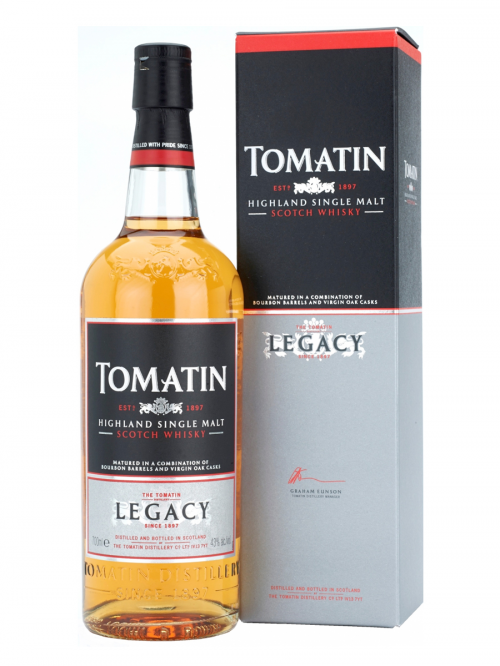 TOMATIN LEGACY 8 YEAR TOMATIN SINGLE MALT