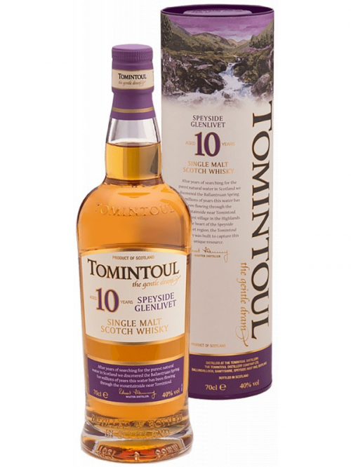 TOMINTOUL 10 YEARS single malt