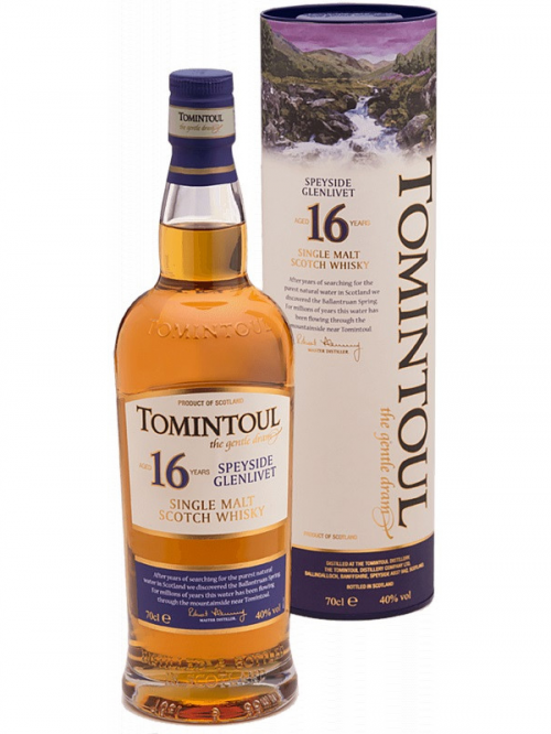 TOMINTOUL 16 YEARS  single malt