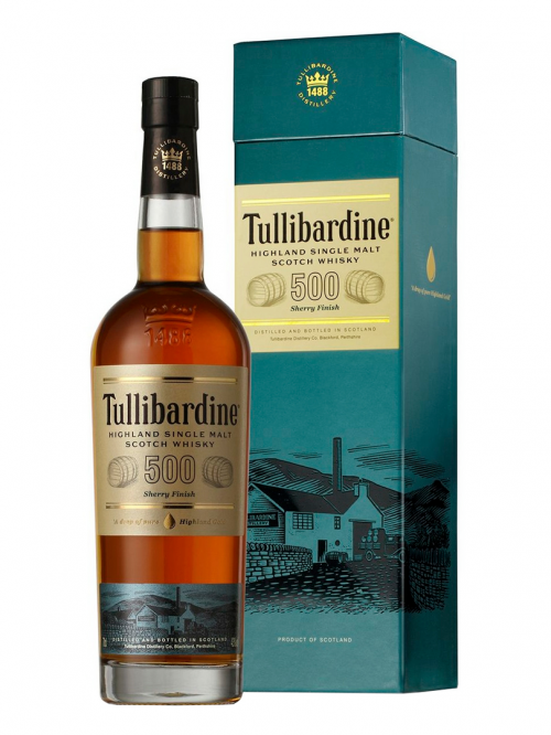 TULLIBARDINE 500 SHERRY FINISH single malt